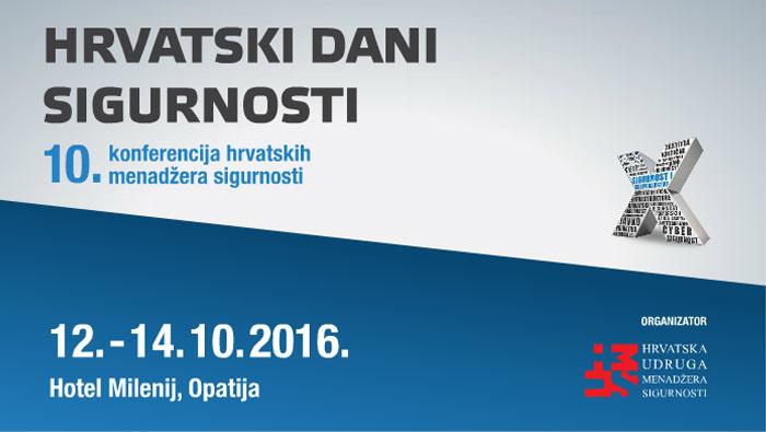 10. konferencija hrvatskih menadžera sigurnosti