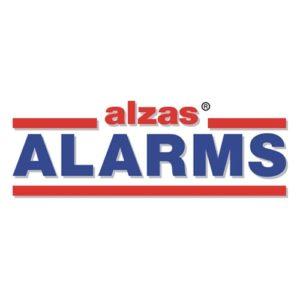 ALZAS ALARMS logo