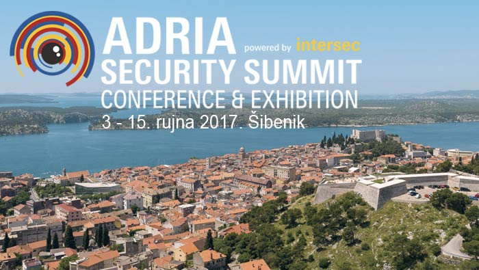 Adria Security Summit powered by Intersec, Šibenik 13-15.09.2017.