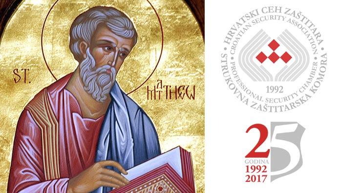 Čestitamo Dan zaštitara i blagdan sv. Mateja