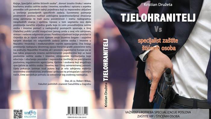 """Promocija knjige """"TJELOHRANITELJ – specijalist zaštite štićenih osoba"""""""