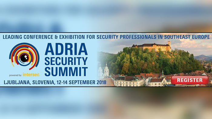 Poziv na Adria Security Summit Powered by Intersec 2018