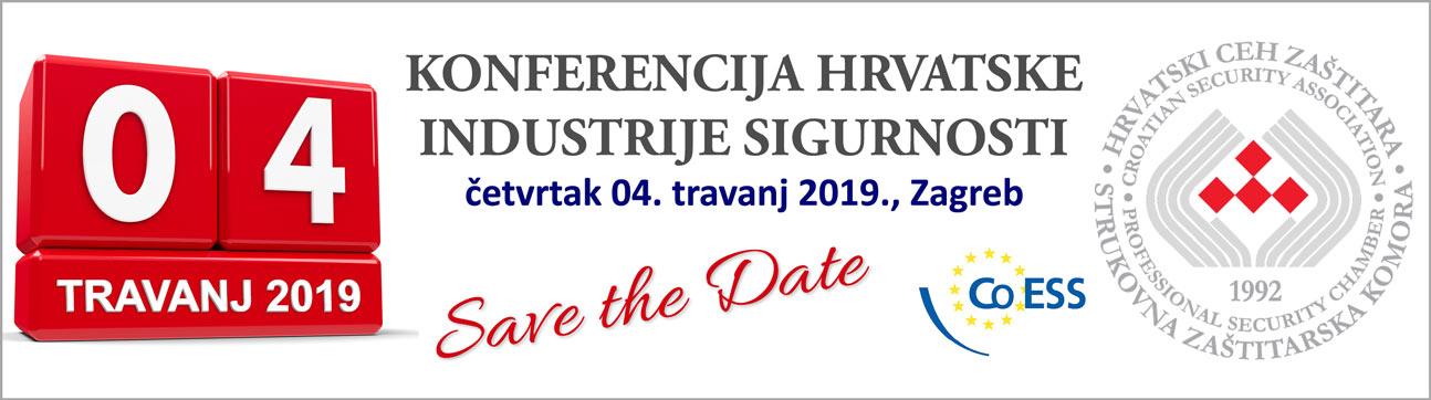 Konferencija hrvatske industrije sigurnosti 2019